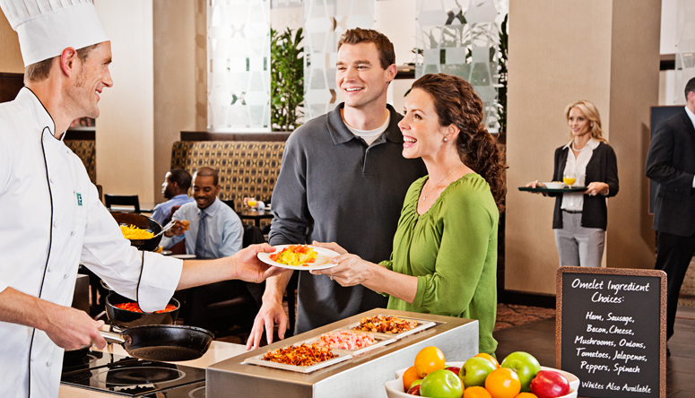 Embassy suites by hilton - free cooked-to-order breakfast Find Out