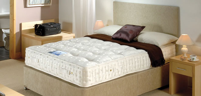 Hospitality bed mattress duplicate from the