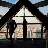 From high atop the 57th floor of Liberty Place, visitors to the One Liberty Observation Deck will be gobsmacked by the 360° landscapes that stretch for miles while also hearing tidbits of Philadelphia's past and its evolution into a major American city.
