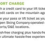 Resort charge