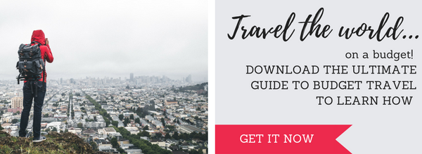 Travel the world on a budget with the Ultimate Guide to Budget Travel!