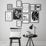 Methods for Rocking Black and White Wall Artwork
